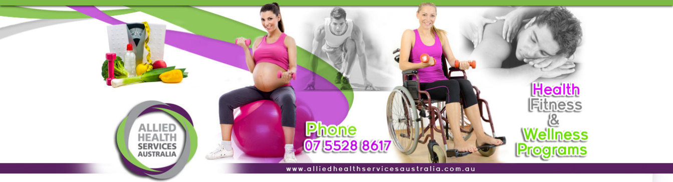 Allied Health Services Australia - Fitness and Wellbeing, Personal Training,  Core Strength, Healthy Mums, Youth Fitness Development